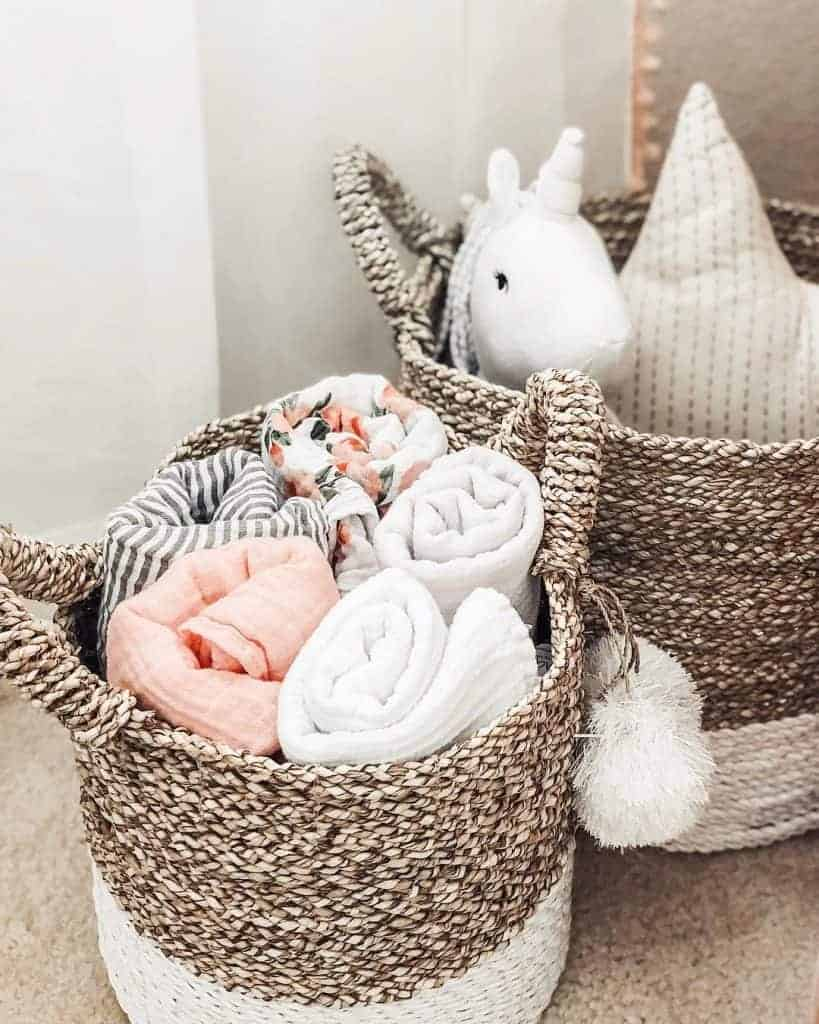 nursery storage ideas for small spaces