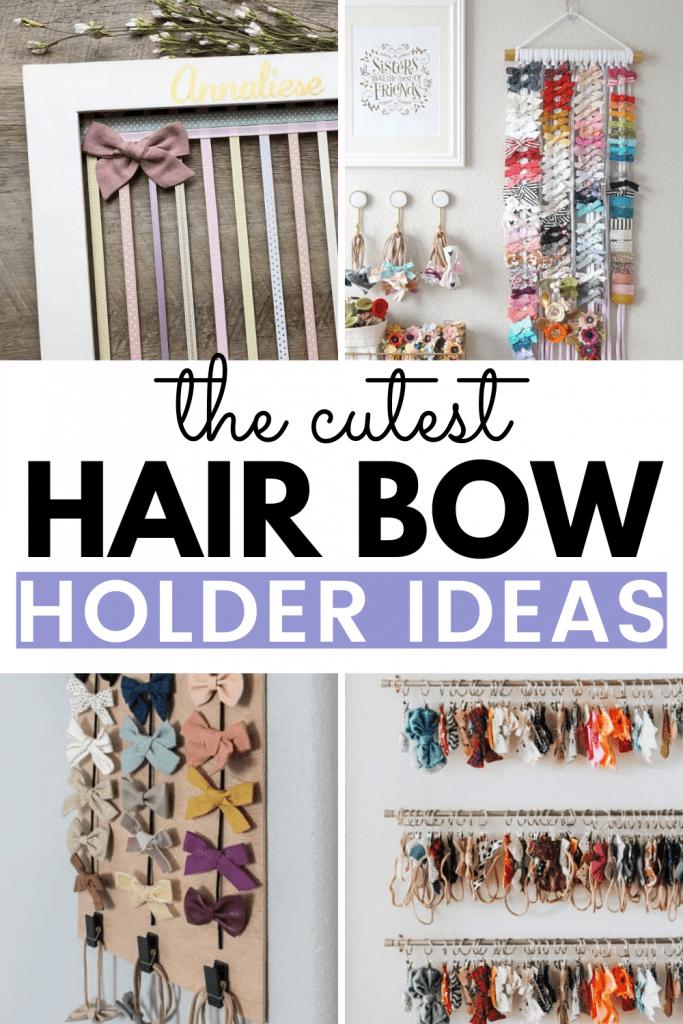hair bow holder ideas