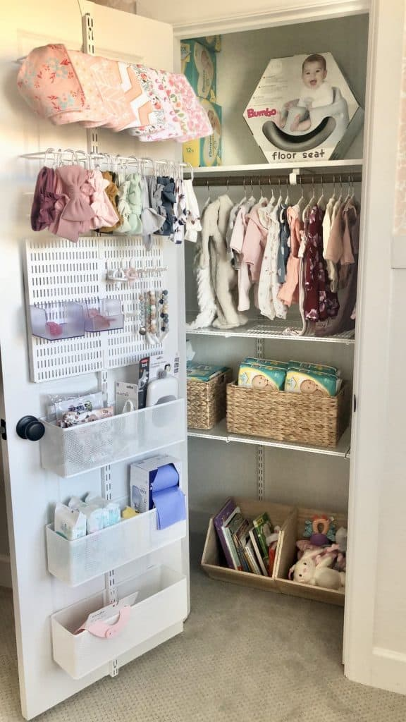 baby closet organization ideas