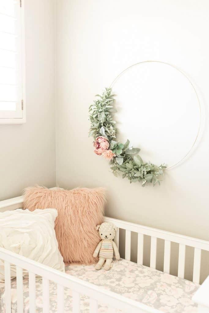 floral nursery ideas
